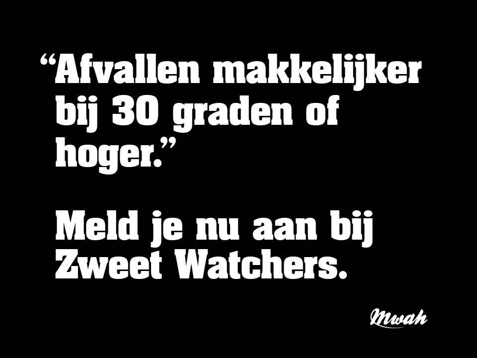 Zweet Watchers